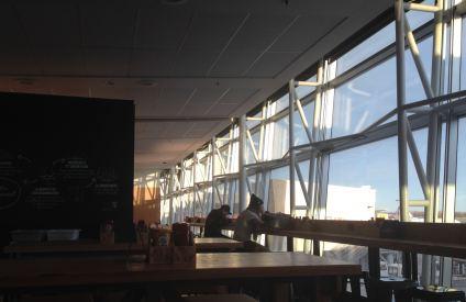 Montreal airport café