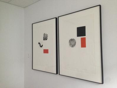 Artwork in my office by Leszek Wyczolkowki